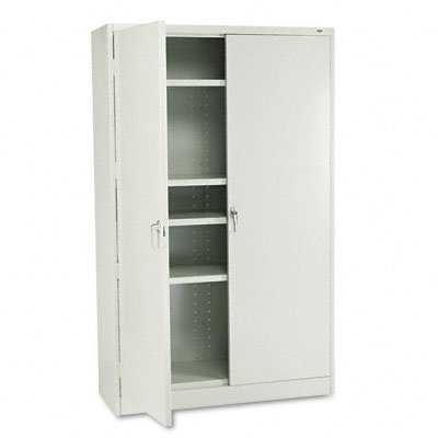 78 High Jumbo Cabinets, 48w x 18d x 78h, Light Gray - TNNJ878LG