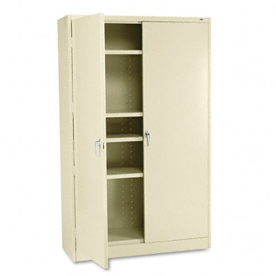 78 High Jumbo Cabinets, 48w x 18d x 78h, Putty - TNNJ878PU