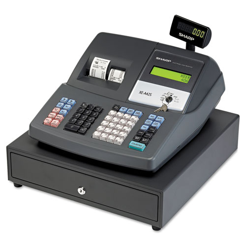 how to use a sharp cash register