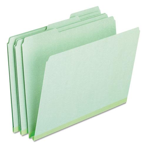 """Pendaflex Pressboard 1/"""" Expanding File Folders 1//3 Cut Tabs Letter Blue 25//Box"""