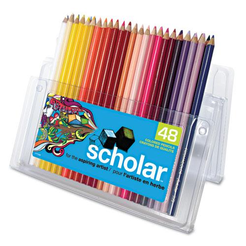 prismacolor 174 scholar colored woodcase pencils 48 assorted