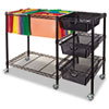 Advantus® Mobile File Cart with Drawers | www.SelectOfficeProducts.com