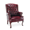 Alera® Traditional Series Wing Back Arm Chair | www.SelectOfficeProducts.com