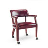 Alera® Traditional Series Guest Arm Chair with Casters | www.SelectOfficeProducts.com