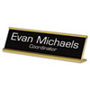 Identity Group Engraved Desk/Counter Sign | www.SelectOfficeProducts.com