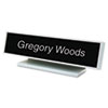 Identity Group Architectural Desk Sign with Name Plate | www.SelectOfficeProducts.com