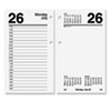 AT-A-GLANCE® One-Color Daily Desk Calendar Refill | www.SelectOfficeProducts.com