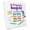 Aurora Products Decorate Me™ Round Ring Binder | www.SelectOfficeProducts.com
