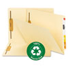 Smead® 100% Recycled Manila End Tab Folders with Fasteners | www.SelectOfficeProducts.com