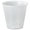 Galaxy Translucent Cups, 9 oz, Individually Wrapped, 1000/Carton