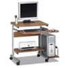 Mayline® Portrait PC Desk Cart Mobile Computer Workstation | www.SelectOfficeProducts.com