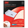 3M Permanent Adhesive Clear Mailing Labels | www.SelectOfficeProducts.com