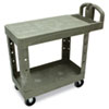 Rubbermaid® Commercial Flat Shelf Utility Cart | www.SelectOfficeProducts.com