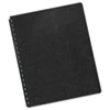 Fellowes® Executive Leather Textured Vinyl Presentation Covers for Binding Systems | www.SelectOfficeProducts.com
