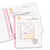 C-Line® Breast Cancer Awareness Pink Ribbon Sheet Protector | www.SelectOfficeProducts.com