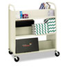 Bretford Steel Slant Shelf Double-Sided Book Carts | www.SelectOfficeProducts.com