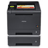 Brother® HL-4570CDWT Color Laser Printer with Wireless Networking, Duplex and Dual Paper Trays | www.SelectOfficeProducts.com