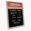 COSCO Message/Business Hours Sign | www.SelectOfficeProducts.com