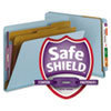 Smead® Colored Pressboard End Tab Classification Folders with SafeSHIELD® Coated Fasteners | www.SelectOfficeProducts.com