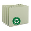 Smead® 100% Recycled Daily Top Tab File Guide Set | www.SelectOfficeProducts.com