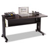 Safco® Mobile Computer Desk with Reversible Top | www.SelectOfficeProducts.com