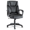Alera® Fraze Executive High-Back Swivel/Tilt Leather Chair | www.SelectOfficeProducts.com