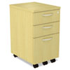 Alera® SedinaAG Series Mobile Box/Box/File Pedestal | www.SelectOfficeProducts.com