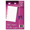 Avery® Mini Binder Filler Paper | www.SelectOfficeProducts.com