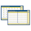 House of Doolittle™ Nondated Reversible Laminated Organizer | www.SelectOfficeProducts.com