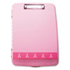 Officemate Breast Cancer Awareness Clipboard Box | www.SelectOfficeProducts.com