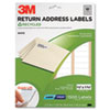 3M Permanent Adhesive White Recycled Mailing Labels | www.SelectOfficeProducts.com