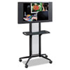 Safco® Impromptu® Flat Panel TV Cart | www.SelectOfficeProducts.com