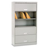 HON® Brigade™ 600 Series Five-Shelf File with Receding Doors | www.SelectOfficeProducts.com