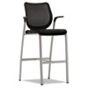 HON® Nucleus® Series Café-Height Stool with ilira®-Stretch M4 Back | www.SelectOfficeProducts.com