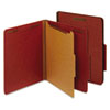 Globe-Weis® Heavy-Duty Pressboard Top Tab Classification Folders | www.SelectOfficeProducts.com