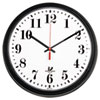 Chicago Lighthouse Black Quartz CONTRACT Clock   www.SelectOfficeProducts.com