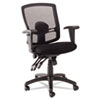 Alera® Etros Series Mesh Mid-Back Petite Multifunction Chair | www.SelectOfficeProducts.com