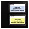 C-Line® Self-Adhesive Business Card Holders | www.SelectOfficeProducts.com