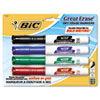 BIC® Great Erase® Grip Chisel Dry Erase Marker | www.SelectOfficeProducts.com
