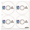 C-Line® CD/DVD Ring Binder Kit | www.SelectOfficeProducts.com