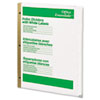 Avery® Office Essentials™ Index Dividers with White Labels | www.SelectOfficeProducts.com