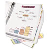 Avery® Protect 'n Tab™ Sheet Protector with Insertable Tab Dividers | www.SelectOfficeProducts.com