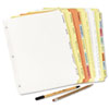 Avery® Write-On Plain Dividers with Erasable Tabs | www.SelectOfficeProducts.com