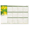 AT-A-GLANCE® Floral Erasable Wall Planner | www.SelectOfficeProducts.com