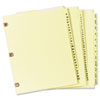 Avery® Preprinted Laminated Tab Dividers with Copper Reinforced Holes | www.SelectOfficeProducts.com