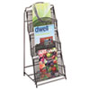 Safco® Onyx™ Magazine Floor Rack | www.SelectOfficeProducts.com