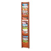 Safco® Solid Wood Wall-Mount Literature Display Rack | www.SelectOfficeProducts.com