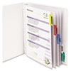 C-Line® Sheet Protector with Index Tabs and Inserts | www.SelectOfficeProducts.com
