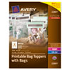 Avery® Printable Bag Toppers with Bags | www.SelectOfficeProducts.com