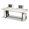 BALT® Split-Level Computer Training Table, 72 x 36 | www.SelectOfficeProducts.com